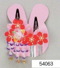 七五三 髪飾り 頭飾り (うさぎちゃんケース入)54063