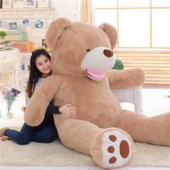 【送料無料】 ぬいぐるみ 特大くま  テディベア クマ アメリカ コストコ 動物 ぬいぐるみ 可愛い 熊抱き枕プレゼント最適160cm