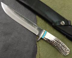 義(よし) J-3 刃長:150mm 和式黒打小刀業物...
