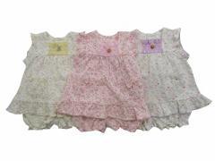 Pample Mousse(パンプルムース) 日本製 秋物  ベビー服 女の子 ミルキースーツ 80 90