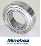 NMB DDL−950ZZ ステンレス ミネベア製 ミニチュア ベアリング
