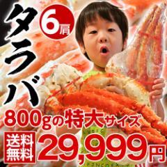 ≪送料無料≫「特大ボイルタラバ蟹」ロシア産 6肩約4.8kg(12人前相当) ※冷凍 ☆