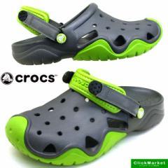 [送料無料]クロックス crocs swiftwater clog 202...