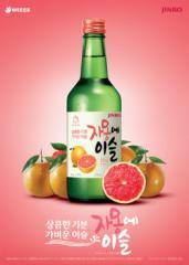 ★新商品★ ジャモンエイスル 360ml  「韓国焼酎」(13度) グレープフルーツ味