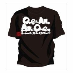 ドッジボールオリジナルtシャツ ! チームtシャツ ドッジボール や ドッジボール チームtシャツ  「One for All」