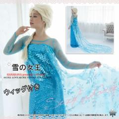 ハロウィン コスチューム雪の女王姉コスチューム ドレス プリンセス風 衣装 仮装【1175-frozen】