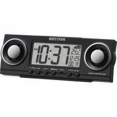 電波大音量めざまし【シチズン 電波目覚まし時計】電波時計/液晶/カレンダー/温度