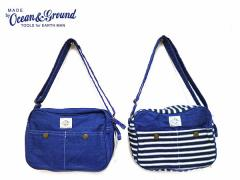 Ocean&Ground オーシャン&グランド 子供服 通園BAG BLUE BLUE o-1615002