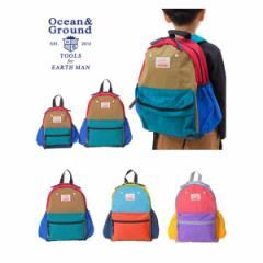 Ocean&Ground オーシャン&グラウンド 子供服 DAYPACK CRAZY キッズ リュック o-1525102