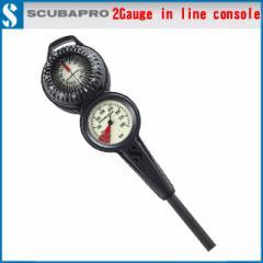 スキューバプロ S-PRO 2-GAUGE COMPASS CONSOLE 残圧計 ゲージ 2ゲージ コンソールゲージ コンパス計