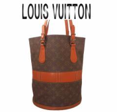 LOUISVUITTON ルイヴィトン モノグラム バケット ショルダーバッグ USA【中古】【虹商店】