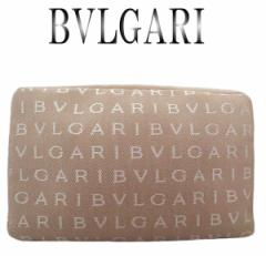 新品 BVLGARI ブルガリ ロゴマニア ポーチ【新品】【虹商店】