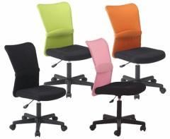 メッシュバックチェアー『ハンター肘なし』オフィスチェアー 激安 椅子 事務用 メッシュチェア 事務椅子 おしゃれ オフィスチェア