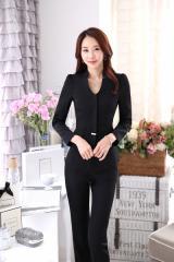 新作 上品スーツ レディース ジャケット+パンツスーツ フォーマル ビジネス 七五三 セレモニー フォーマル 2点セット 女性 スーツ