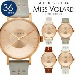 2年保証 KLASSE14 クラス14 クラッセ 36mm 腕時計 MISS VOLARE 2017SS 限定モデル レディース レザーベルト