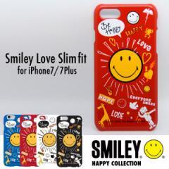 iPhone7,iPhone7Plus ケース カバー スマイリーラブスリムフィット Love ハードケース【メール便OK】