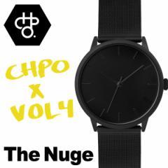 CHEAPO チーポ CHPO 14232JJ スウェーデン 北欧  VOL4 ブラック 腕時計 正規品 シーエイチピーオー メンズ レディース  オールブラック