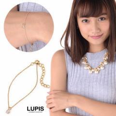 シンプルジュエルチャームブレスレット - ルピス(LUPIS)