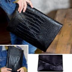 クラッチバッグ メンズ バッグ クラッチ セカンドバッグ クラッチバッグ メンズファッション シンプル ベーシック 柄 キレイ目