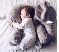 【送料無料】枕ぬいぐるみ人形 子供 赤ちゃん布の人形 象ぬいぐるみ/ぬいぐるみ/人形ダブルキングサイズの枕ぬいぐるみクッション60cm
