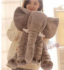 リアルぬいぐるみ アフリカゾウ/象 特大 インテリア キッズ子供 おもちゃ 動物 ぬいぐるみ 60cm