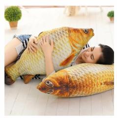 魚 ぬいぐるみ さかな抱き枕サカナクッションおもしろグッズおもちゃ 店飾り60cm