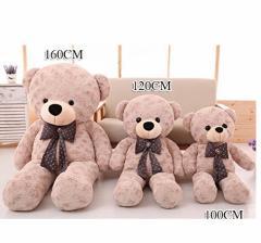 ぬいぐるみ 特大 くま/テディベア アメリカCostCo 可愛い熊 動物 100cm 大きい/巨大 /熊縫い包み/クマ抱き枕/お祝い/ふわふわぬいぐるみ