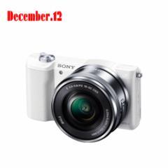 ソニー デジタル一眼カメラ「α5100」 パワーズームレンズキット ILCE-5100L(W)