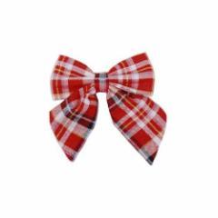 ■送料無料■TeensEver リボン 色:赤ピンクチェック ■学校制服ブランドTeensEver■女子高生・プチプラ【お取り寄せ】