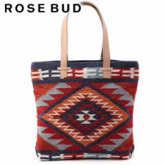 【SALE】ROSE BUD ローズバッド FF BAGS ネイティブ柄トートバッグ【2016A/W】【入荷!】(160437)