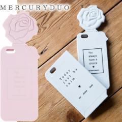 【SALE】MERCURYDUO マーキュリーデュオ Flowerディフューザー シリコンiPhoneケース iPhone6/6S