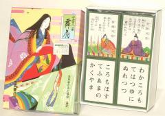 全日本かるた協会 選定【小倉百人一首 舞扇】任天堂謹製