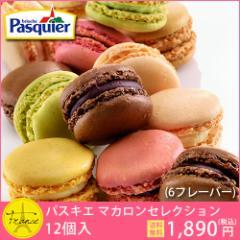 【送料無料】フランス直輸入 冷凍マカロン Pasquier マカロンセレクション(12個×1箱)