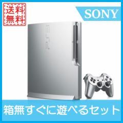 【中古】PS3 本体 プレイステーション3 コントローラ付 CECH2500A シルバーすぐ遊べる