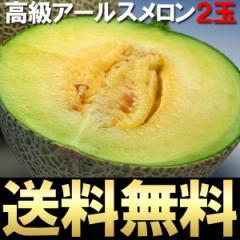 フルーツ アールスメロン 2玉 ギフト 贈り物 (gn)