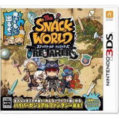 【送料無料(ネコポス)・発売日前日出荷】(初回封入特典付)3DS スナックワールド トレジャラーズ (08.10新作) 020851