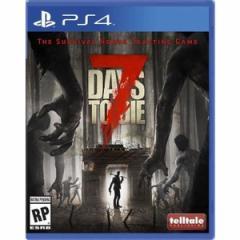 【送料無料(ネコポス)・即日出荷】PS4  7 Days to Die セブン デイズ トゥ ダイ (輸入北米版) 090526