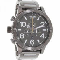 ニクソン メンズ腕時計 メンズウォッチ Nixon A083-2069 A0832069 Mens 51-30 Gunmetal Green Oxyde Chrono Watch【送料無料】