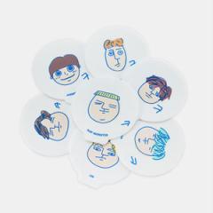 (先払いのみ) 韓国スターグッズ 防弾少年団(BTS) [illustrated by JUNGKOOK] OFFICIAL MD - コースターセット