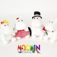 (先払いのみ) 海外アニメグッズ Moomin(ムーミン)ムーミン スノークのお嬢さん ぬいぐるみ ストラップ/キーホルダー(12cm/4種1択)
