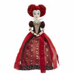 (先払いのみ)海外グッズ ディズニー 公式商品 「アリス・イン・ワンダーランド/時間の旅」 赤の女王 ドール 人形