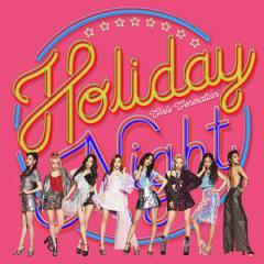 韓国音楽 少女時代 - 6集 「HOLIDAY NIGHT」 (バージョン2種の中1種選択/CD+ブックレット80P+フォトカード1種)