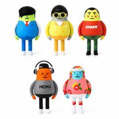 (先払いのみ) 韓国芸能グッズ 無限挑戦(ムハンドジョン)X Sticky Monster Lab フィギュア(5種1択)(予約 発売日:2016.12.19以後)