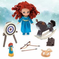 (先払いのみ)海外グッズ ディズニー 公式商品 メリダ ミニドール セット 人形 Disney Animators Collection Merida Mini Doll