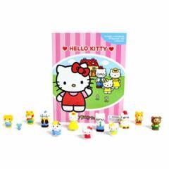 (英語版)海外書籍 「Hello Kitty:My Busy Books(ハローキティ マイ ビジーブック)」 (本+ミニフィギュア12種)