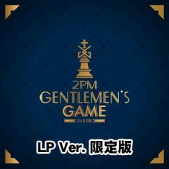 韓国音楽 2PM(トゥーピーエム) - 6集 「GENTLEMEN'S GAME」 (LP限定版/1LP+フォトブック24P+歌詞集フォトカード6枚+フォトはがき1枚)