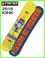 2016 RIDE KINK 143cm ライド キンク スノーボード ツインロッカー ジブボード