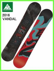 2016 K2 VANDAL142cm ケーツースノーボード ツインロッカー