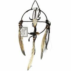 メディスン・ホイール バッファローC  ドリームキャッチャー インディアンジュエリー ナバホ族 ハンドメイド ラッピング無料
