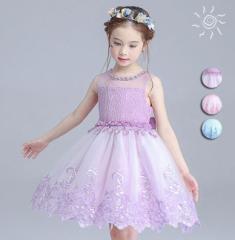 送料無料ワンピース子供服 女の子 韓国子供服 ドレス 女の子ワンピース/ウエディングドレス ガールズ子供ドレス 結婚式